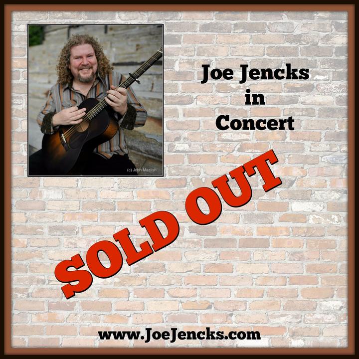 Joe Jencks @ Concerts at the Historic Cooper's House  - Columbia, MD