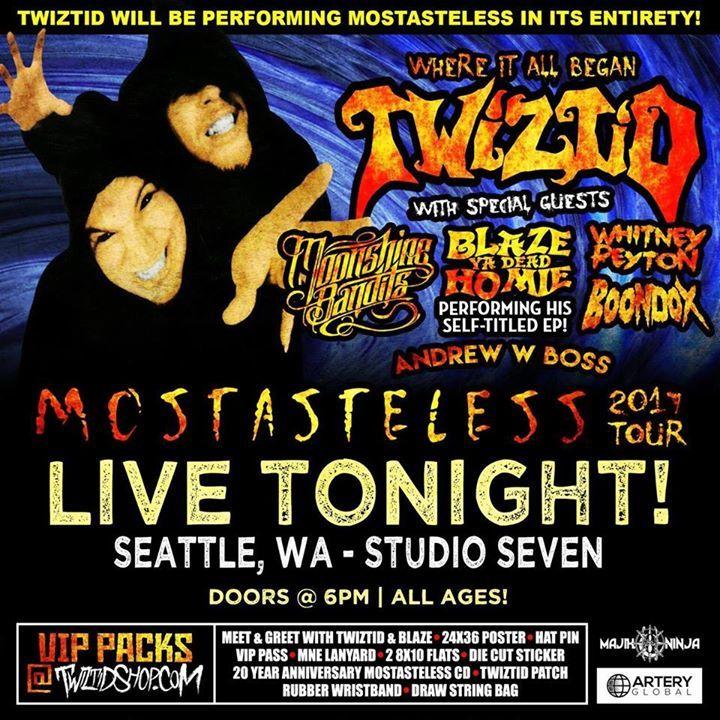 Twiztid @ Hawthorne Theater - Portland, OR