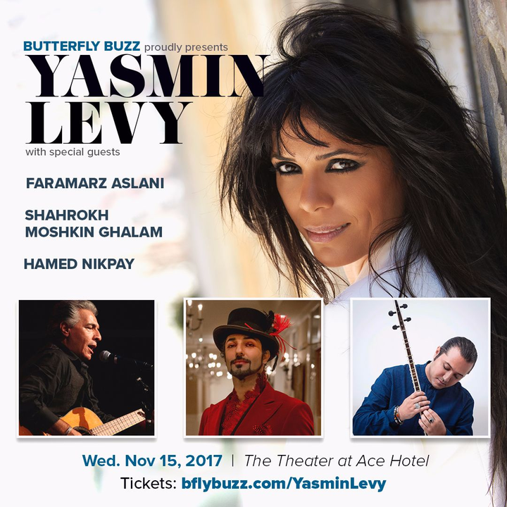 Yasmin Levy @ The Theatre at Ace Hotel - Los Angeles, CA