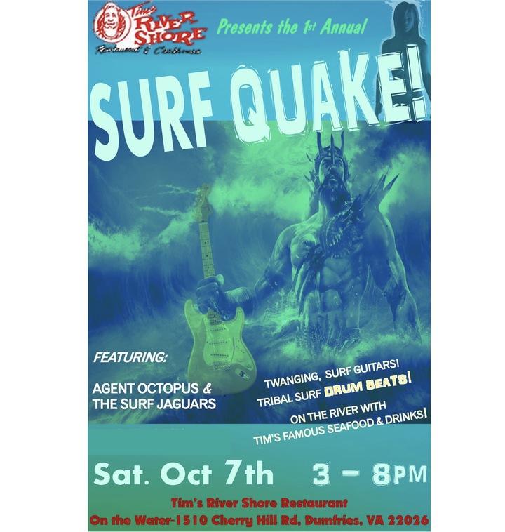Surf Jaguars @ Tim's Rivershore Restaurant And Crab Shack - Dumfries, VA