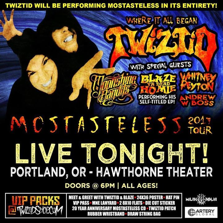 Blaze- Ya Dead Homie @ Hawthorne Theater - Portland, OR