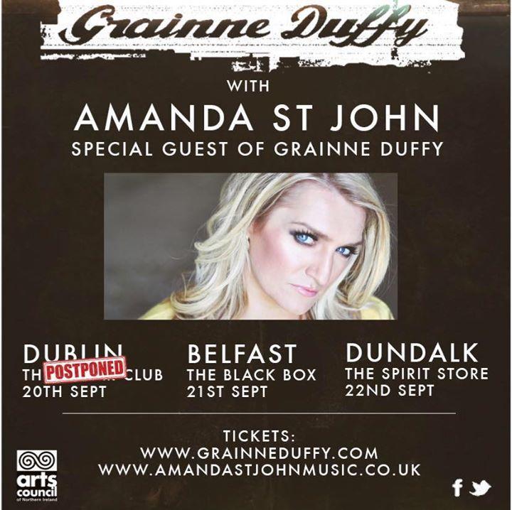 Amanda St John Music Tour Dates