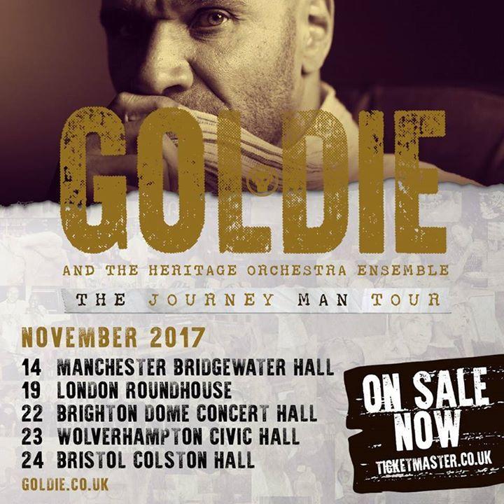 Goldie @ Venue - North Vancouver, Canada