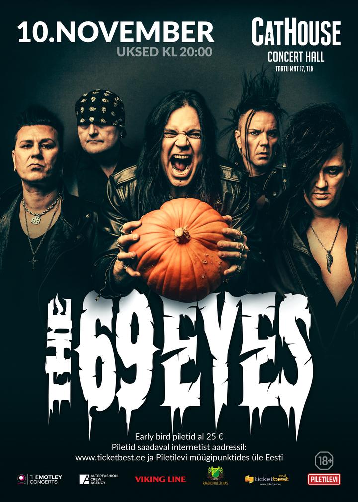 The 69 Eyes @ Cathouse - Tallinn, Estonia