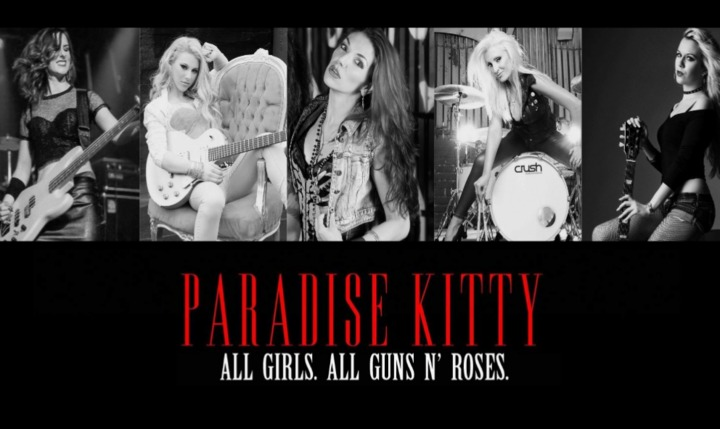 Paradise Kitty - Gn'R Tribute @ Electric Blue Gentlemens Club, - Tolland, CT