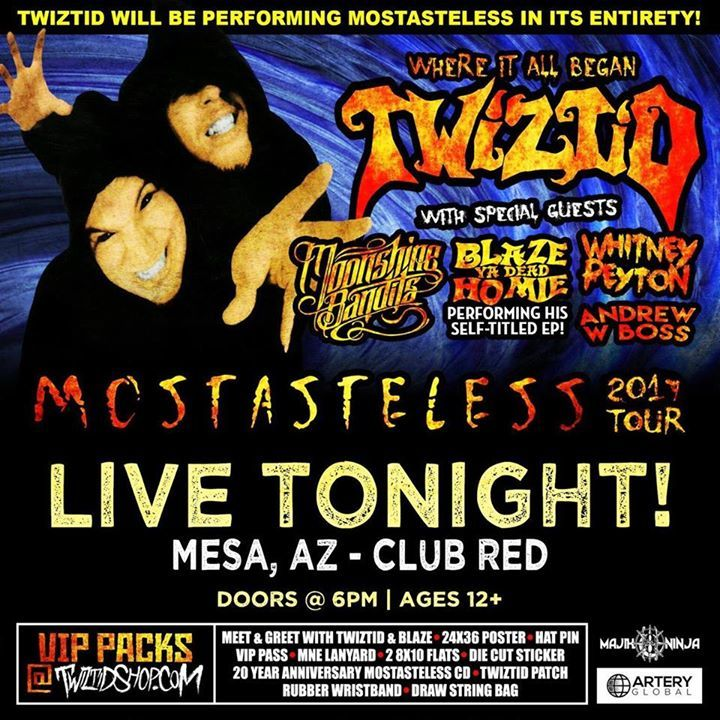 Blaze- Ya Dead Homie @ Adrenaline - Las Vegas, NV
