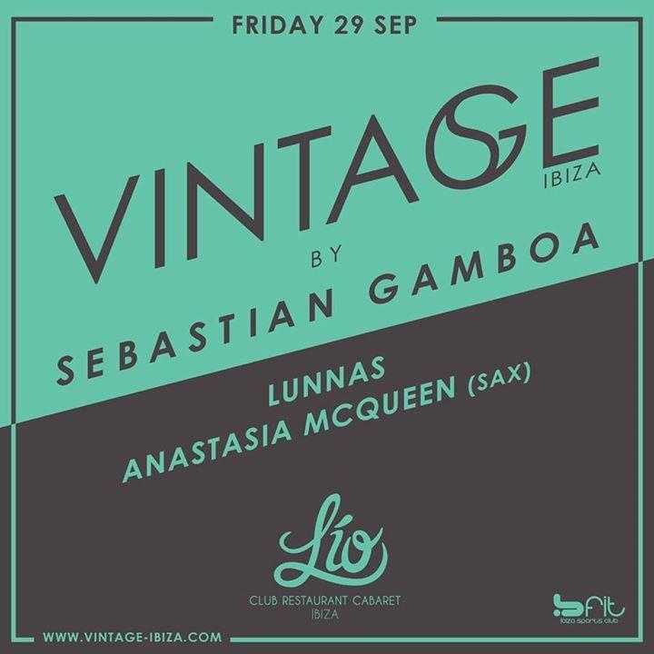 Sebastian Gamboa @ Lio - Ibiza, Spain