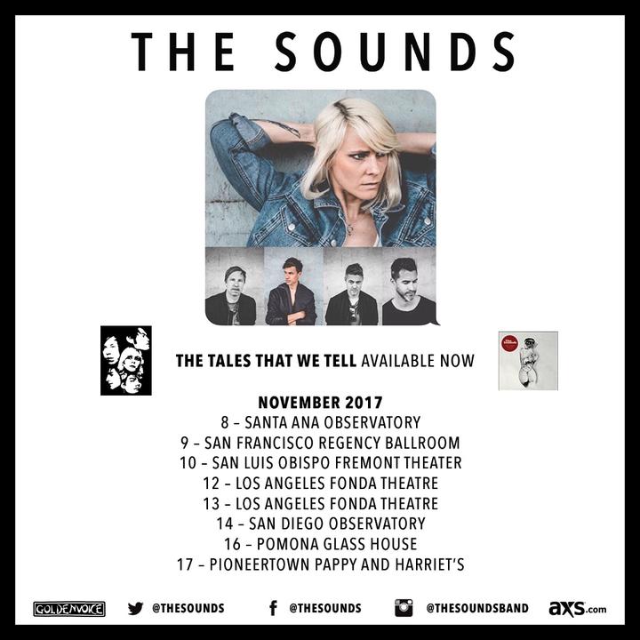 The Sounds @ The Fonda Theatre - Los Angeles, CA