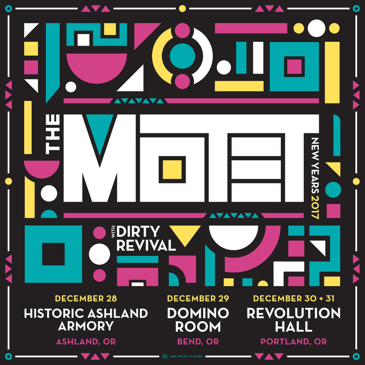The Motet @ Historic Ashland Armory - Ashland, OR