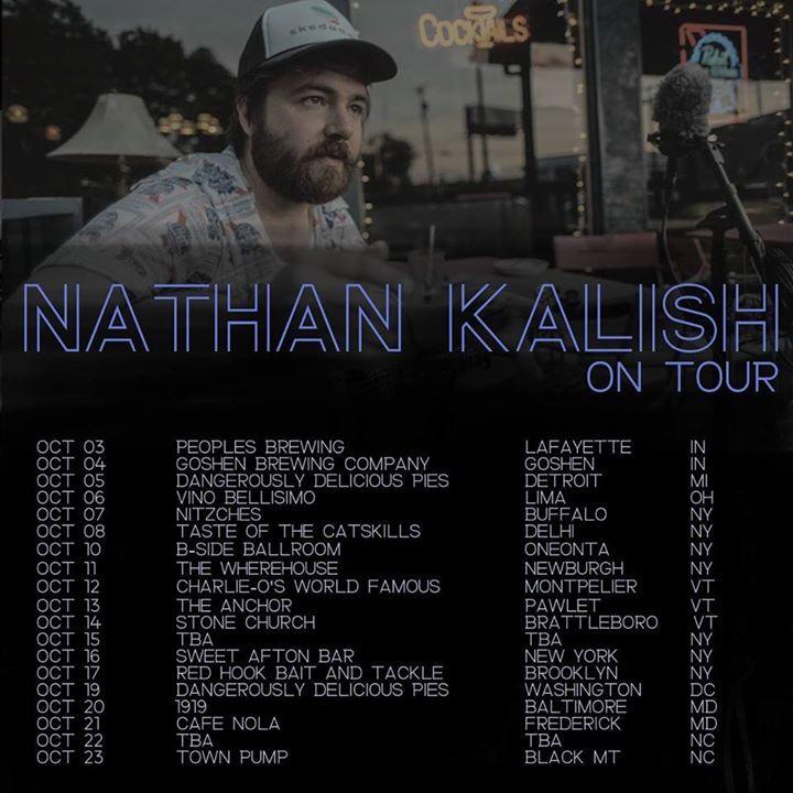 Nathan Kalish @ Traverse County Music Club - Wheaton, MN