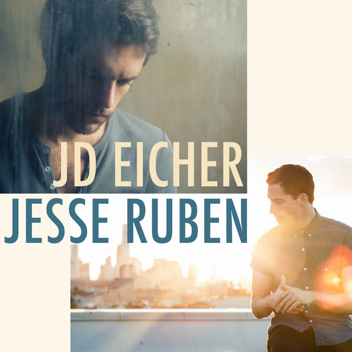 JD Eicher @ Lilypad (acoustic w/Jesse Ruben, 7:30pm doors / 8pm show) - Cambridge, MA