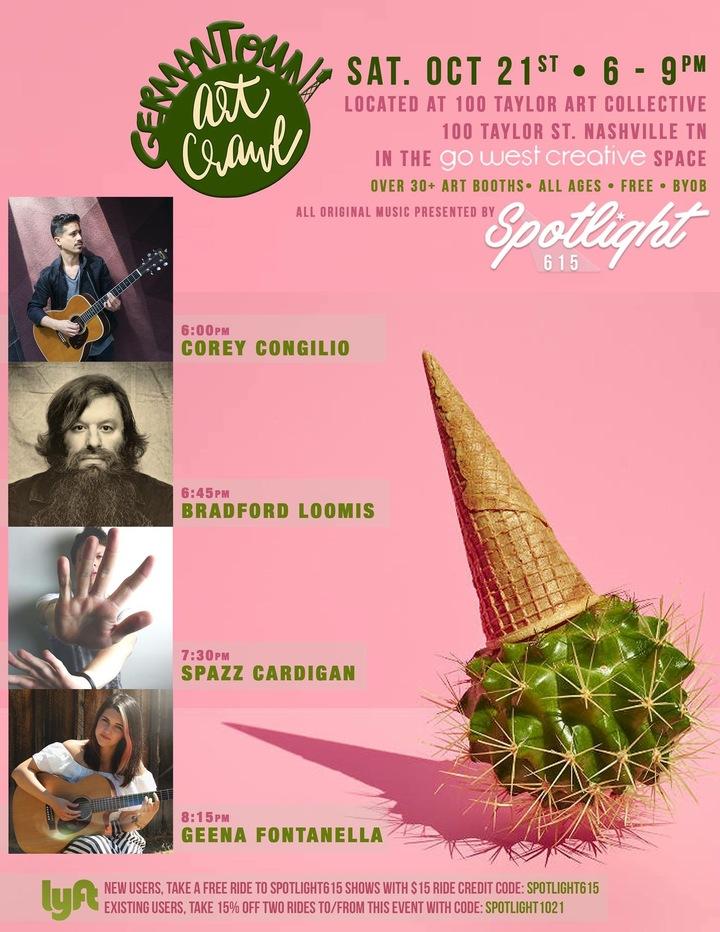Ashlevans Entertainment @ 100 Taylor Art Collective - Nashville, TN