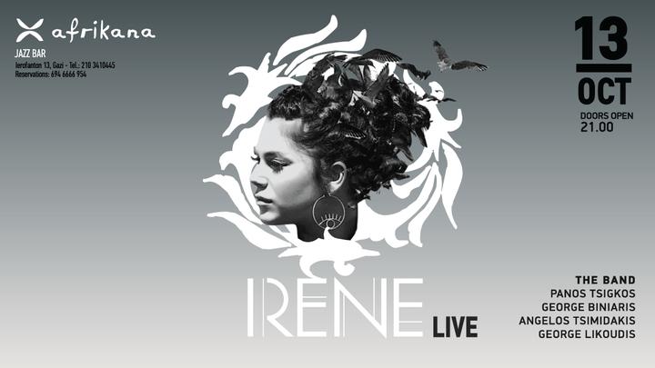 Irene @ Afrikana Jazz Club  - Athens, Greece