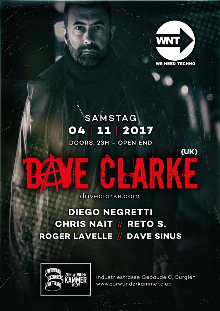 Dave Clarke (Official) @ Raumstation - St. Gallen, Switzerland
