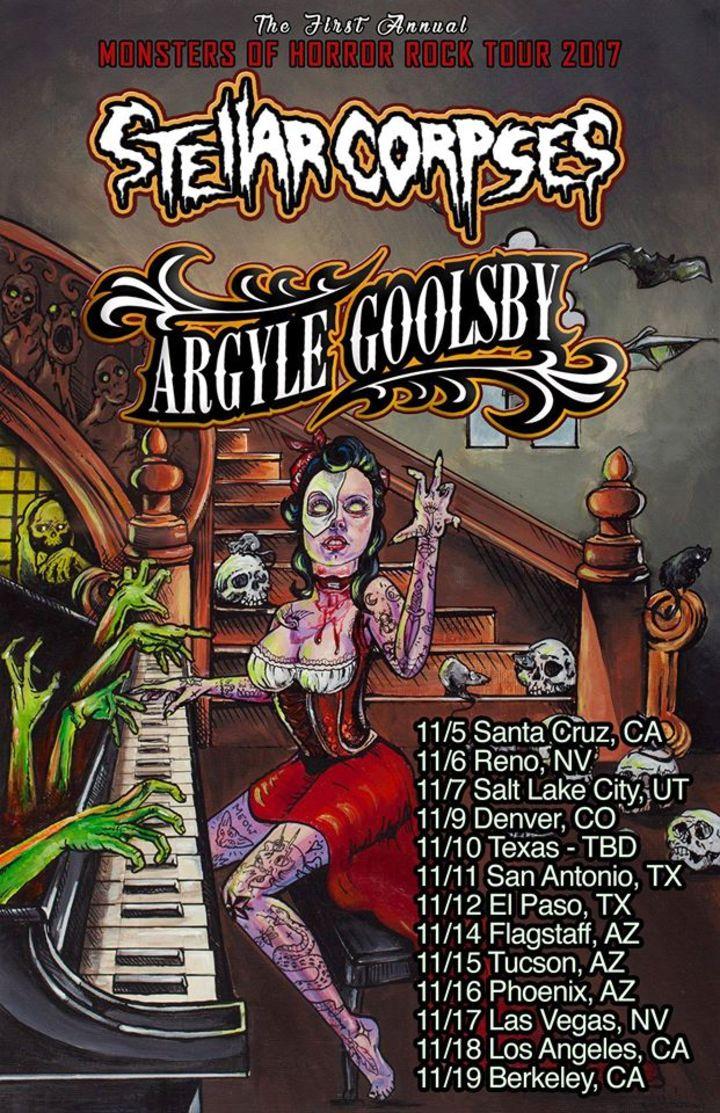 Stellar Corpses Tour Dates