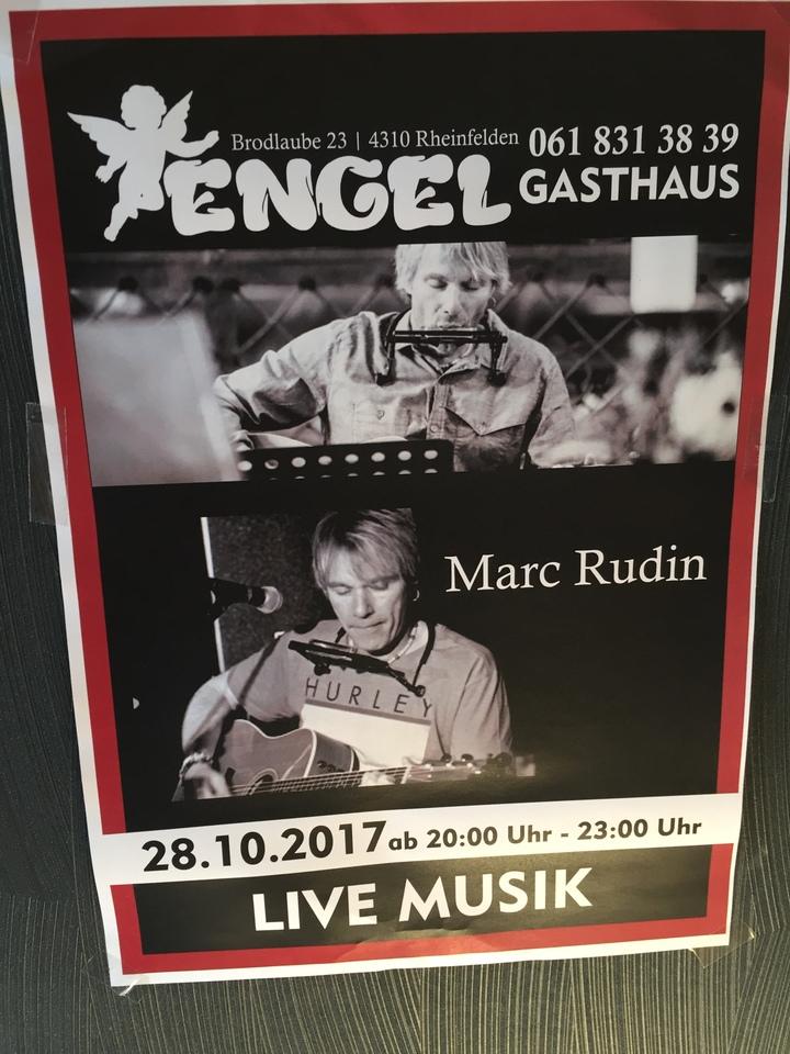Marc Rudin @ Gasthaus Zum Engel  - Rheinfelden, Switzerland