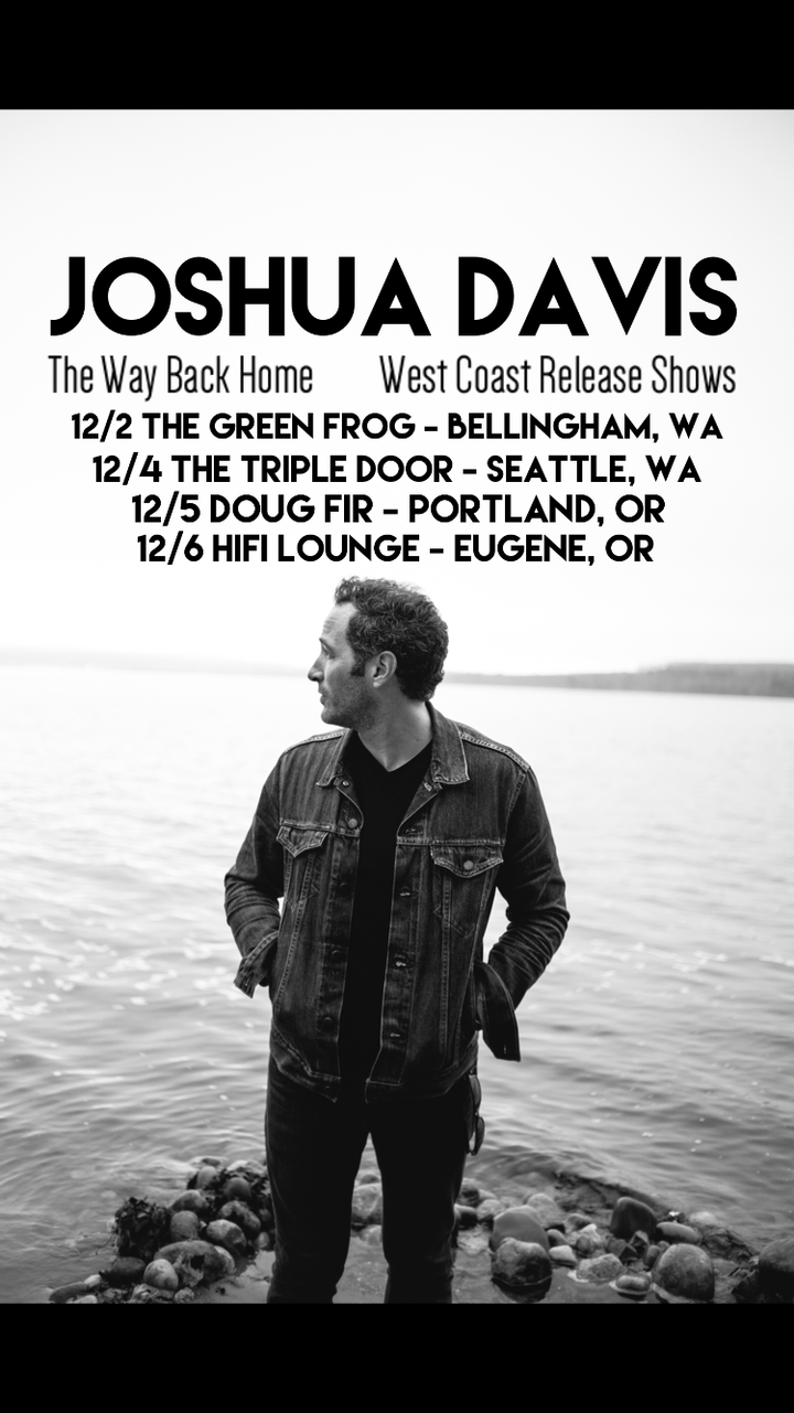 Joshua Davis @ The Triple Door - Seattle, WA