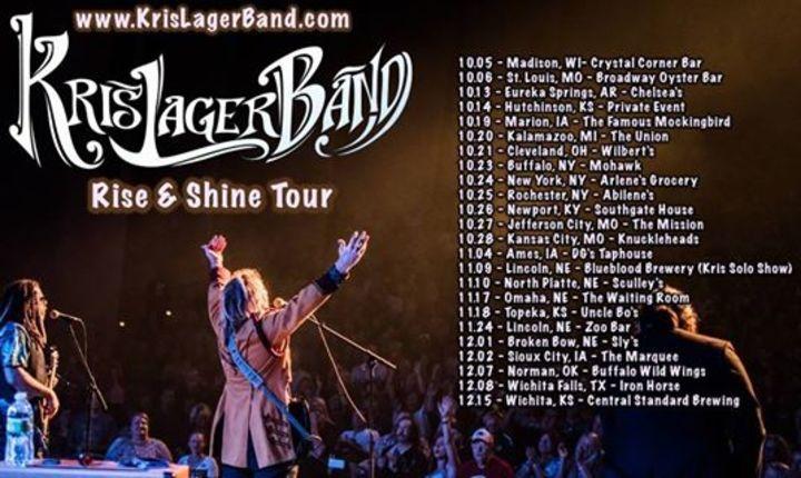 Kris Lager Band Tour Dates