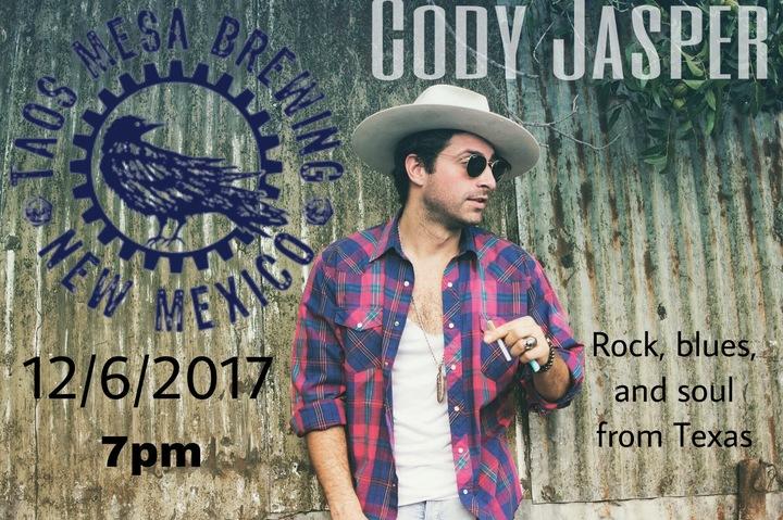 Cody Jasper @ Taos Mesa Brewing  - El Prado, NM