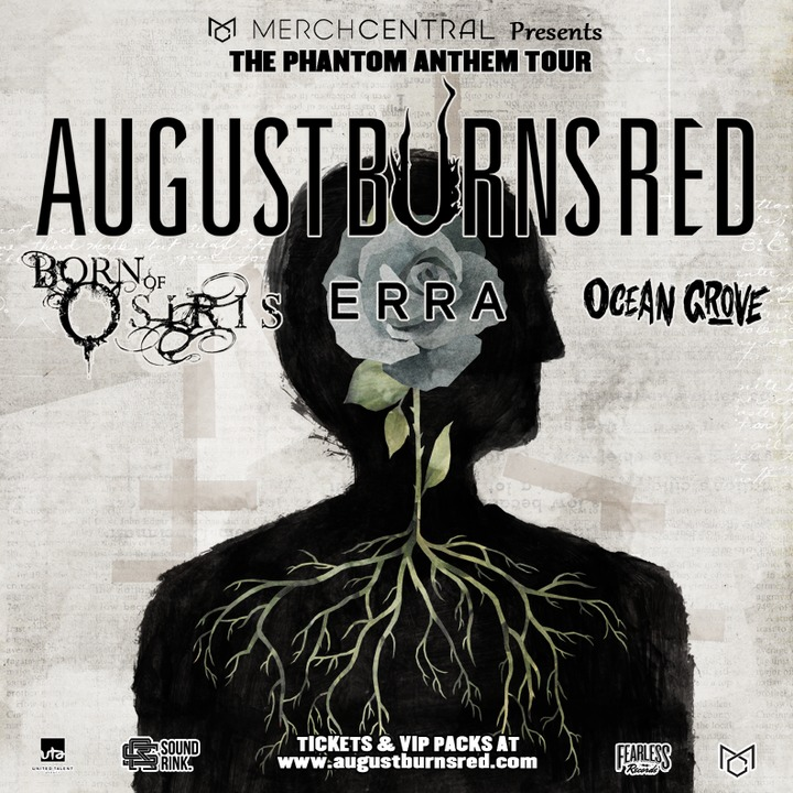 August Burns Red @ Club Universum SOLD OUT - Stuttgart, Germany