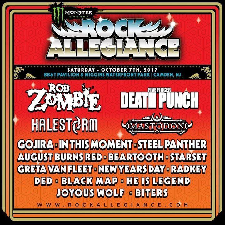 Rock Allegiance Tour Dates