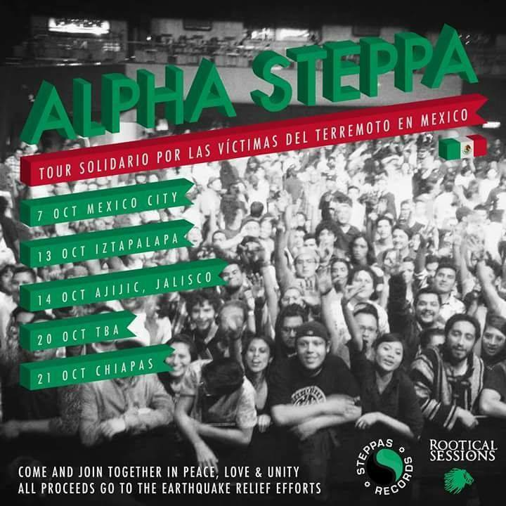 Alpha Steppa Tour Dates