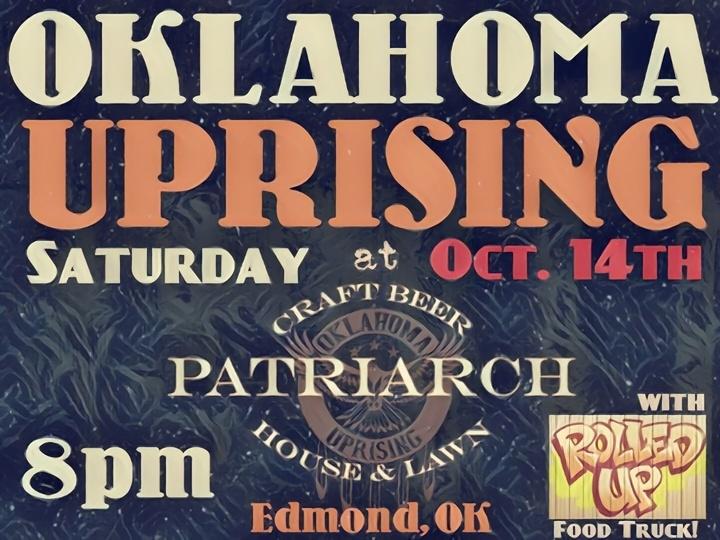 Joel T. Mosman & The Oklahoma Uprising @ The Patriarch - Edmond, OK