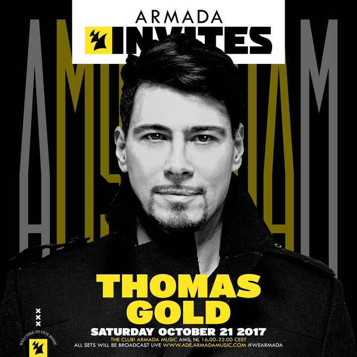 thomas gold armada invites ile ilgili görsel sonucu