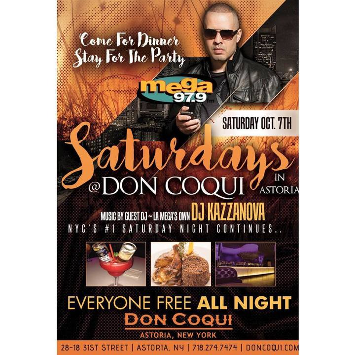 DJ Kazzanova @ Don Coqui Astoria  - New York, NY