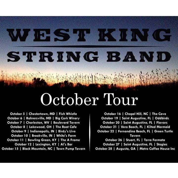 West King String Band @ Blue Canoe - Tupelo, MS