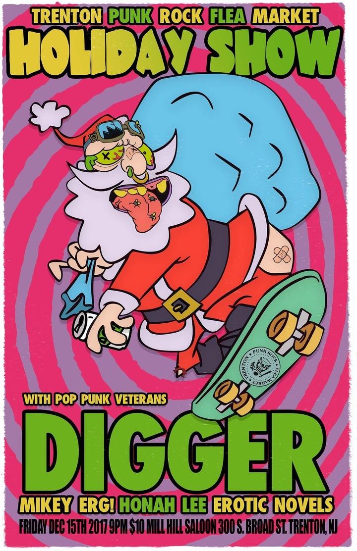 Digger @ Mill Hill Saloon - Trenton, NJ