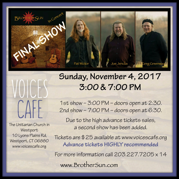 Brother Sun @ Voices Cafe - Westport, CT