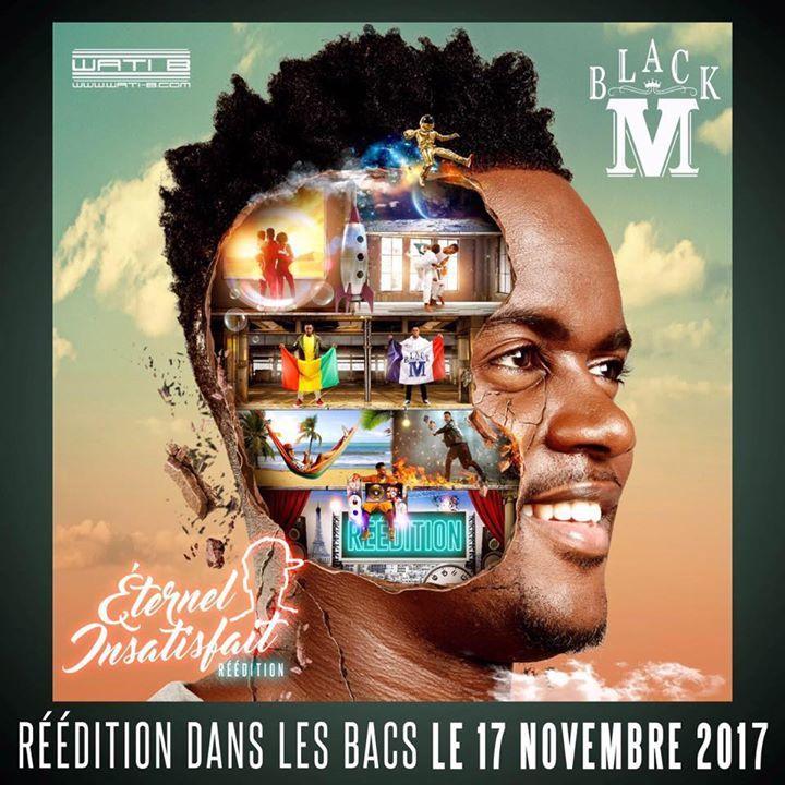 Black M @ PARC DES EXPOSITIONS-GRAND HALL - Tours, France