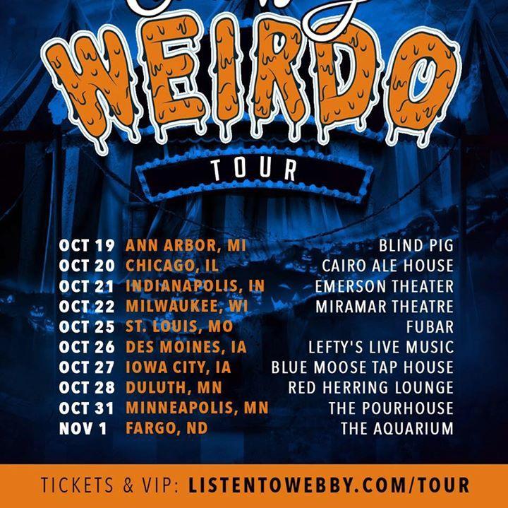 Chris Webby Tour Dates 2017 Upcoming Chris Webby Concert