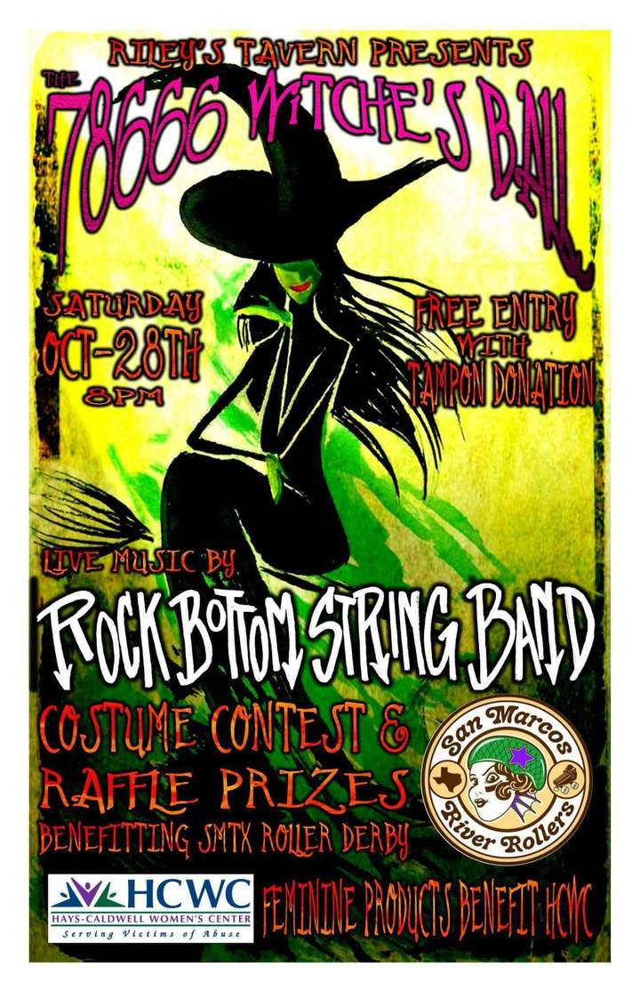 Rock Bottom String Band @ Riley's Tavern  - New Braunfels, TX