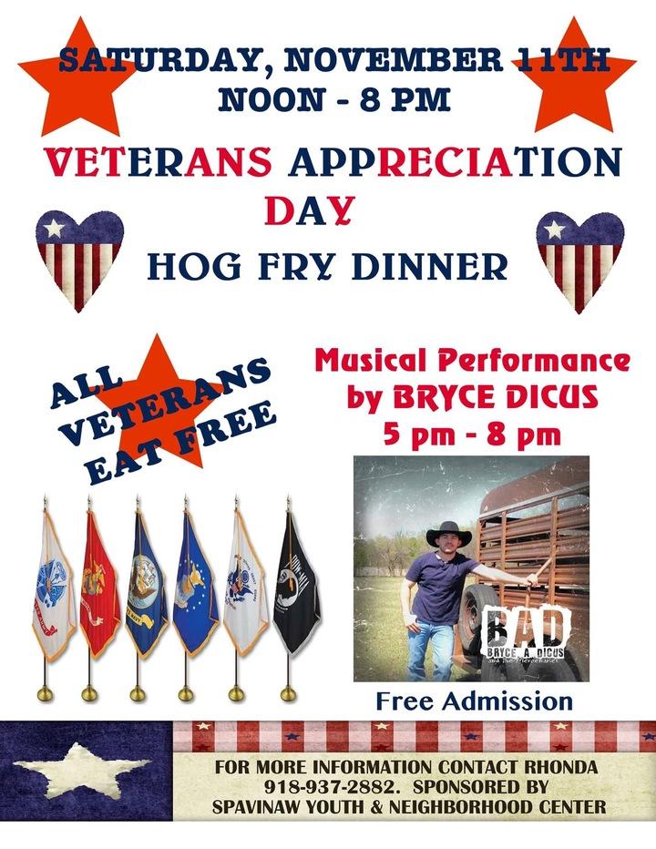 Bryce Dicus & the Mercenaries @ Veterans Day Festival (Acoustic) - Spavinaw, OK