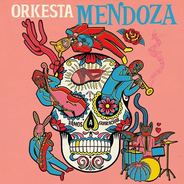 Orkesta Mendoza @ De Roma - Antwerp, Belgium