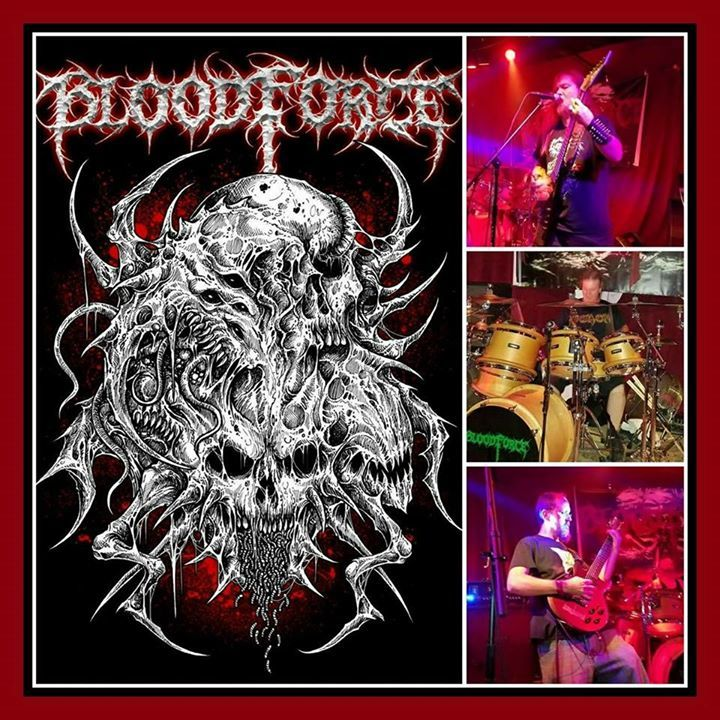 BloodForce @ The Drunk Horse Pub - Fayetteville, NC