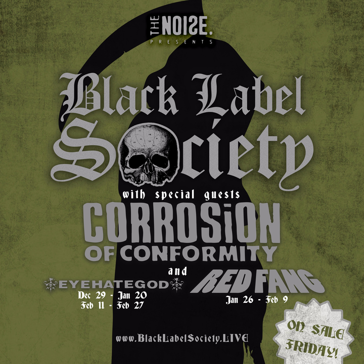 Black Label Society @ The Palladium - Worcester, MA