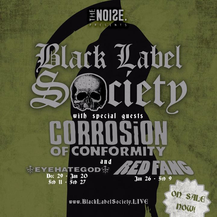 Black Label Society @ Eagles Ballroom Club Stage - Milwaukee, WI