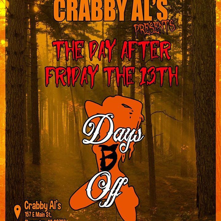 Days Off the Band @ Crabby Al's - Thomaston, CT