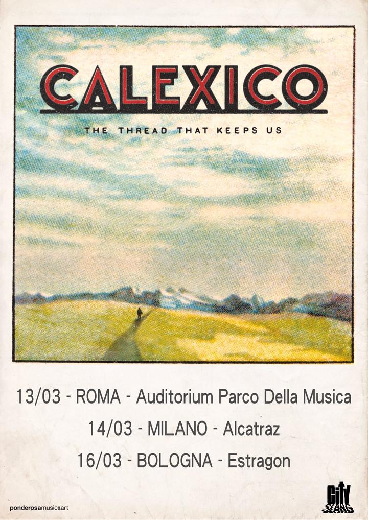 Calexico @ Auditorium Parco della Musica - Roma, Italy