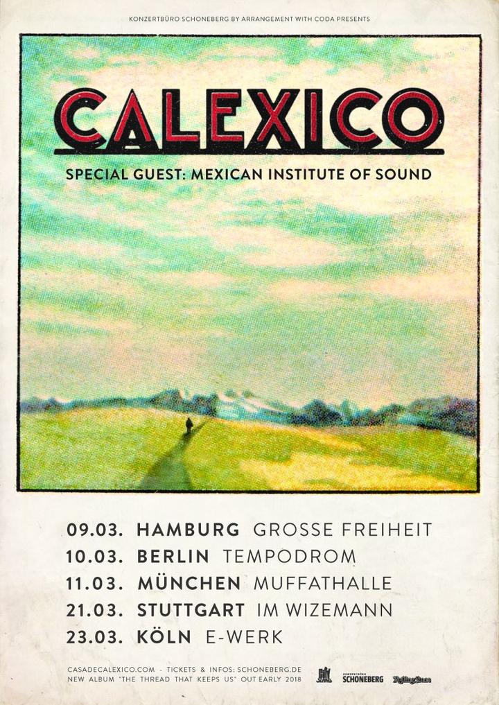 Calexico @ Im Wizemann - Stuttgart, Germany