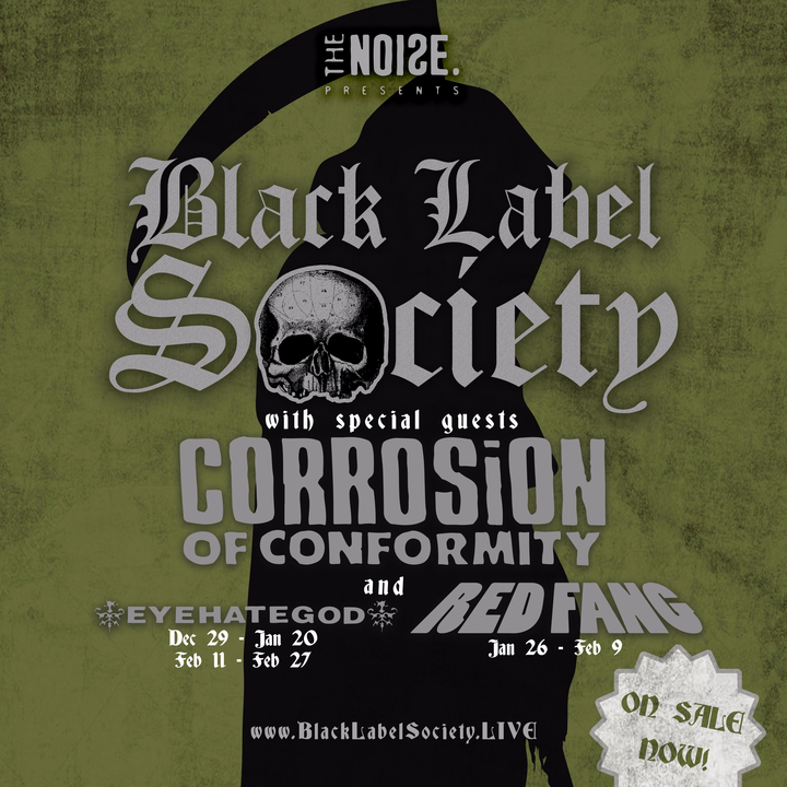 Black Label Society Tour Dates