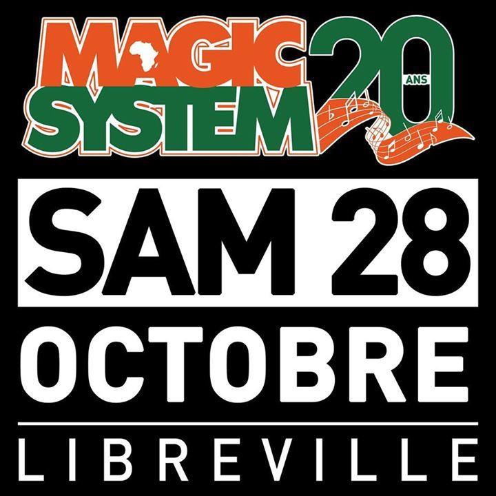 Magic System Tour Dates