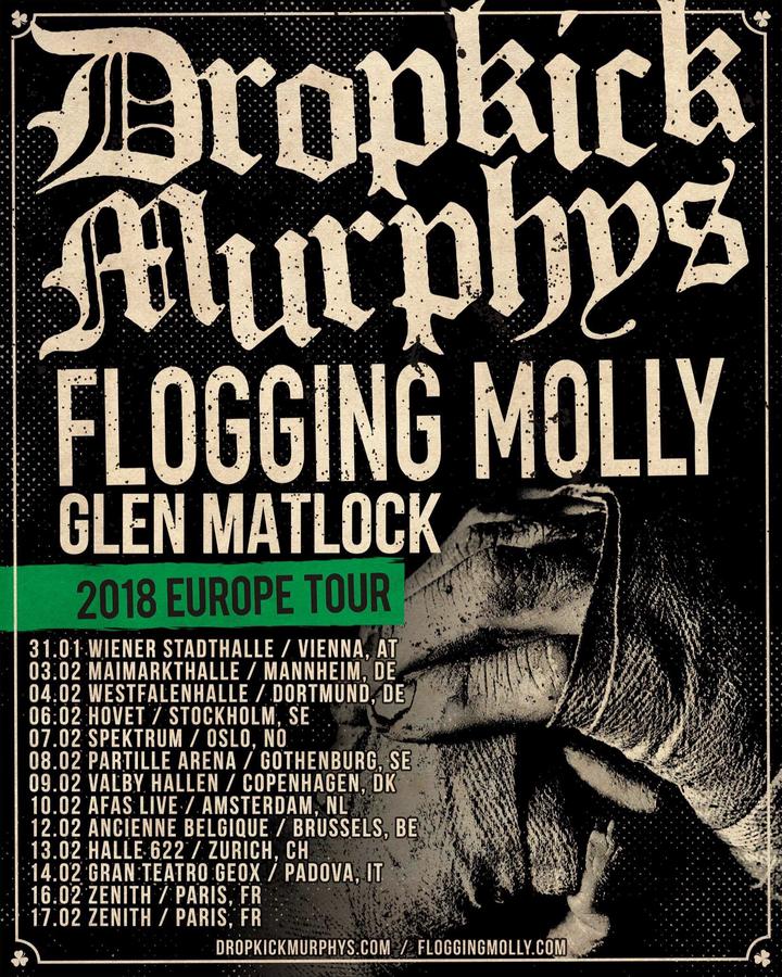 Flogging Molly @ Partille Arena - Gothenburg, Sweden