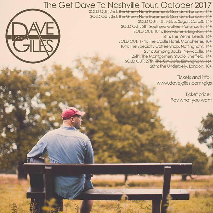 Dave Giles @ Jumpin' Jacks - Newcastle-Upon-Tyne, United Kingdom