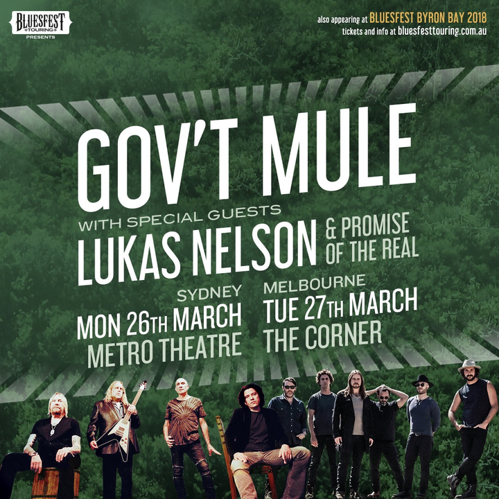 Lukas Nelson & Promise of the Real @ The Corner - Melbourne, Australia