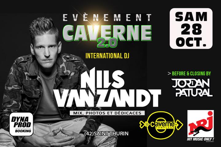 Nils Van Zandt @ LA CAVERNE 2.0 - Saint-Thurin, France