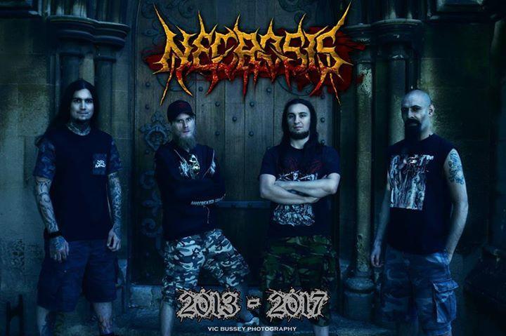 Necrosis @ Be 24-7 - Moers, Germany